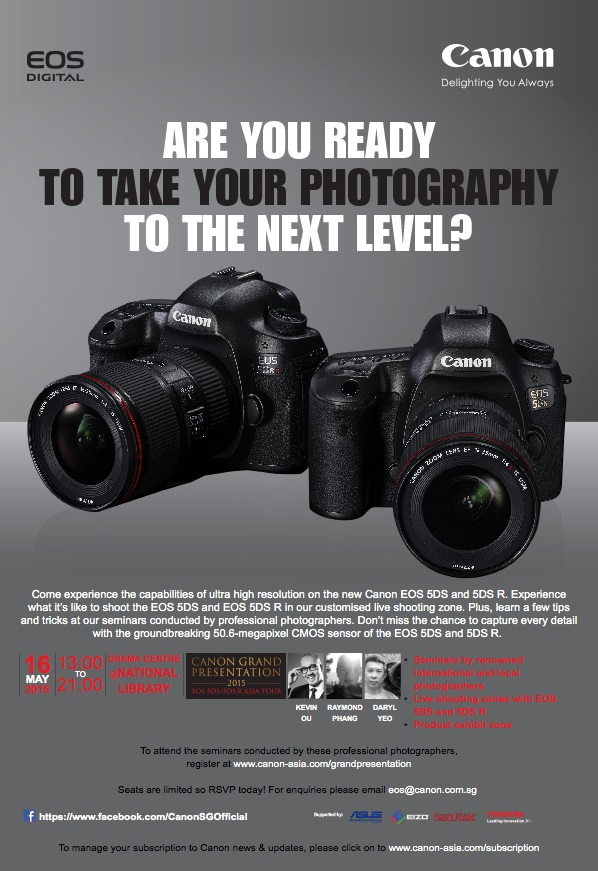 Canon 39 s grand presentation for Camera email