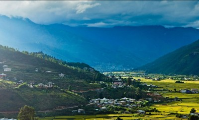 Paro Valley Sunset