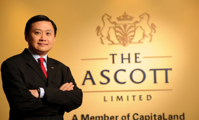 Mr Tony Soh, Chief Corporate Officer, The Ascott Limited