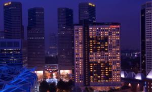 1. Hotel Exterior (Night)