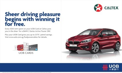 UOB Cards Win A BMW at Caltex Lucky Draw v2