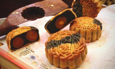 Traditional Black Bean Paste Baked Mooncake