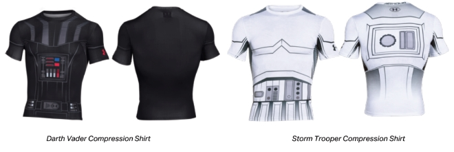 5a60b997 Get into the mood for Star Wars with Under Armour