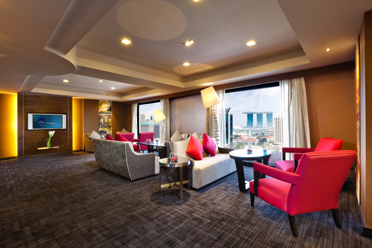 Explore novotel singapore clarke quay and its vicinity for Sitting room suites