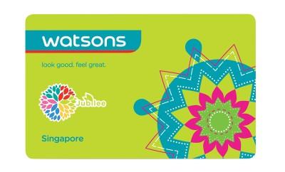 Watsons Jubilee Card