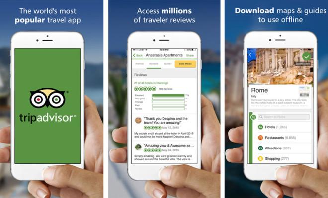 Image result for TripAdvisor travel app