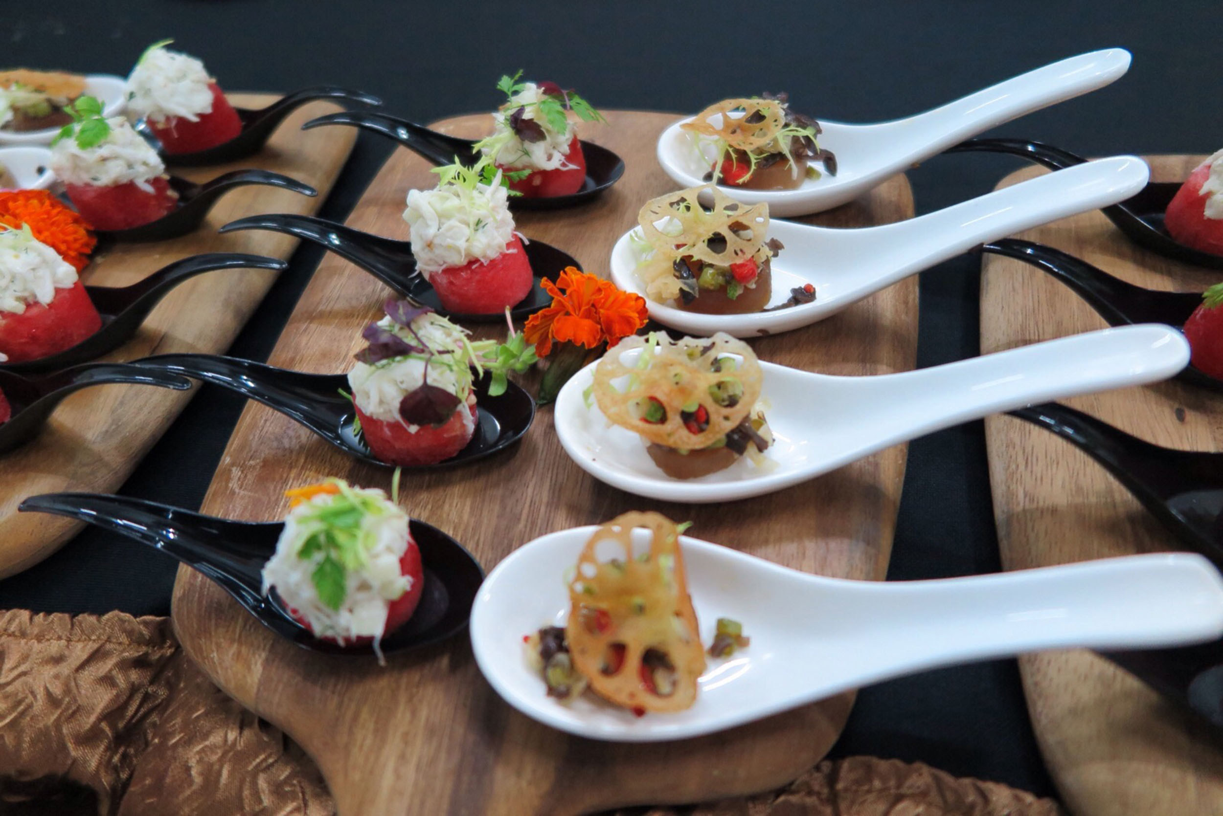 Celebrate your milestones with lavish catering for Canape companies