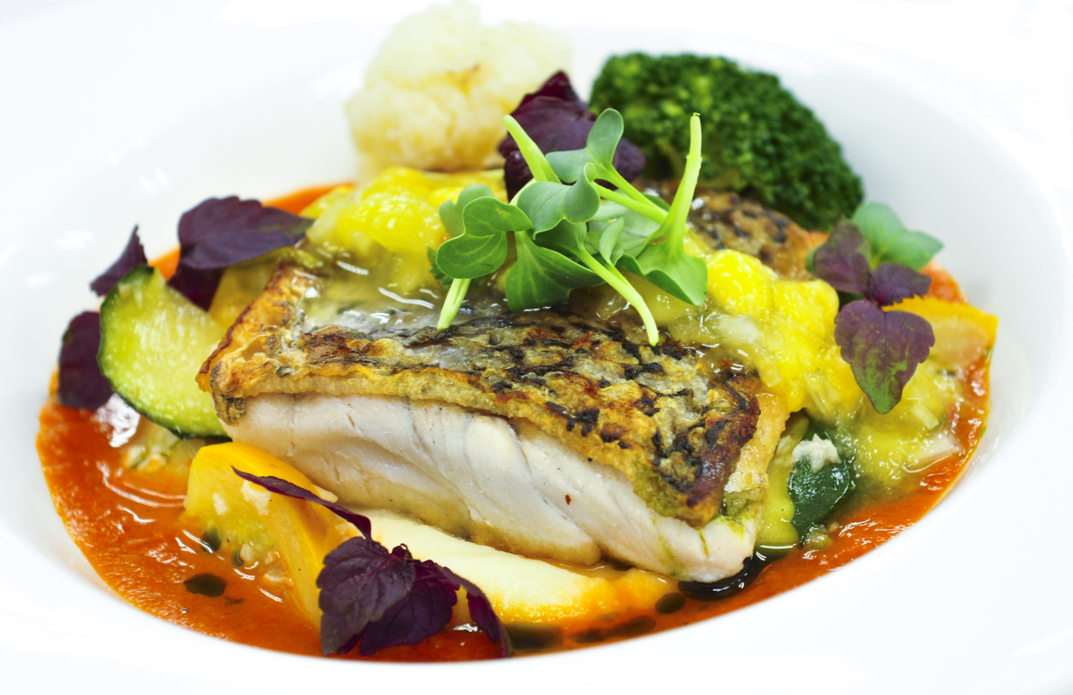 Pan-Seared Halloumi With Spicy Mango Dressing Recipe ...