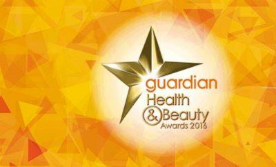 guardian health and beauty awards 2016