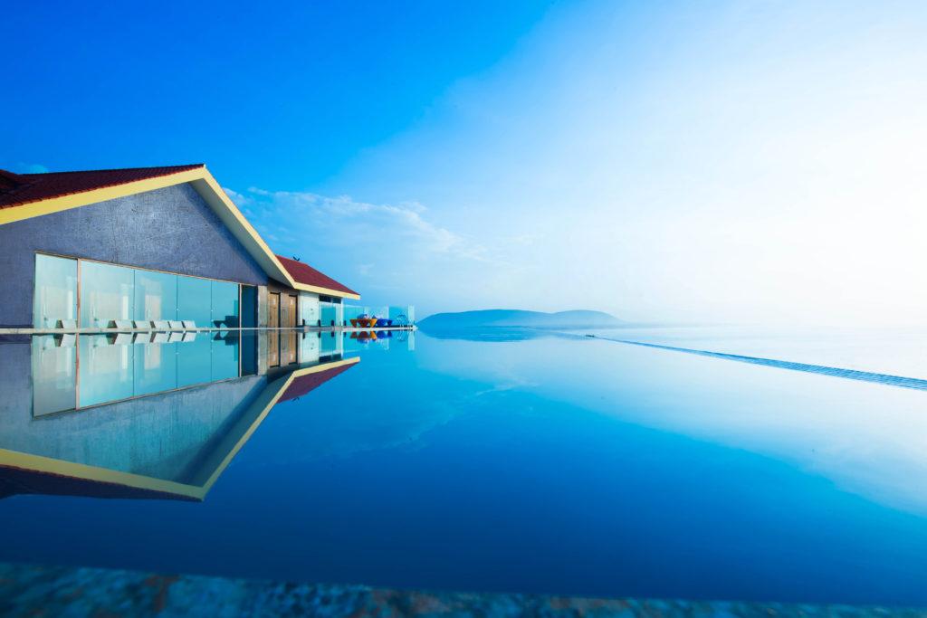 Beach-facing Varcun Beach Bheemili Resort