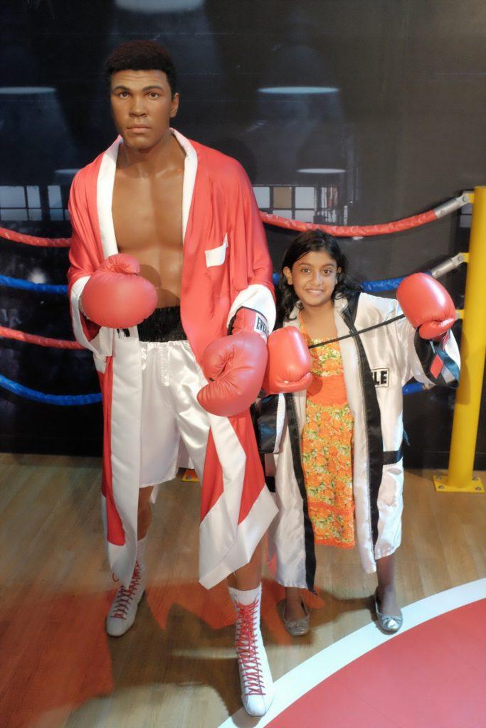 Madame Tussauds Singapore  - Muhammad Ali