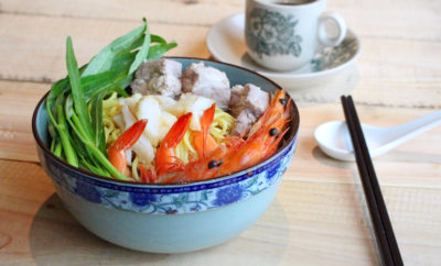 Wave Cafe National Day Special  - Prawn Mee Soup