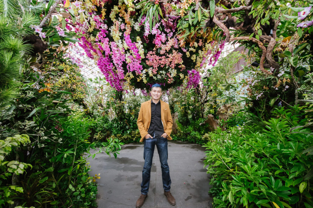 Alan Tan and Orchid Extravaganza