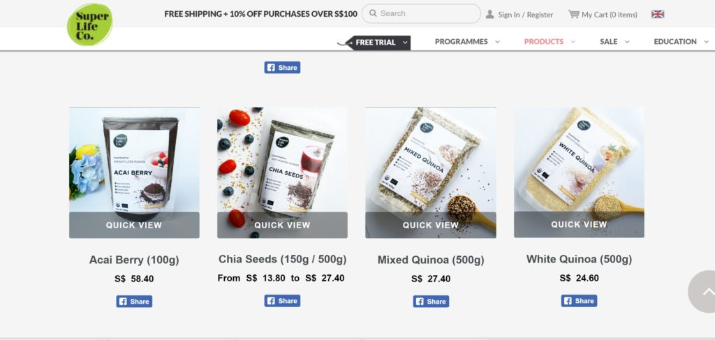 Superlife Co Online Store
