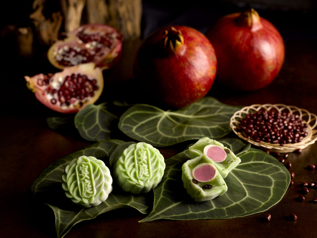Yan Ting Pomegranate Truffle with Red Bean Chendol Paste