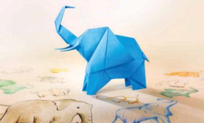 axa blue elephant parade singapore