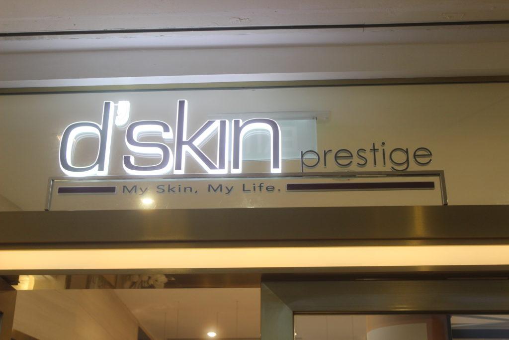 1 - d'skin Prestige Entry
