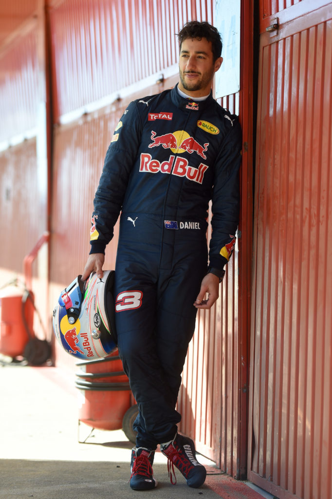xxxx during day one of the Red Bull Racing filming sessions at Circuit de Catalunya on March 5, 2016 in Montmelo, Spain.