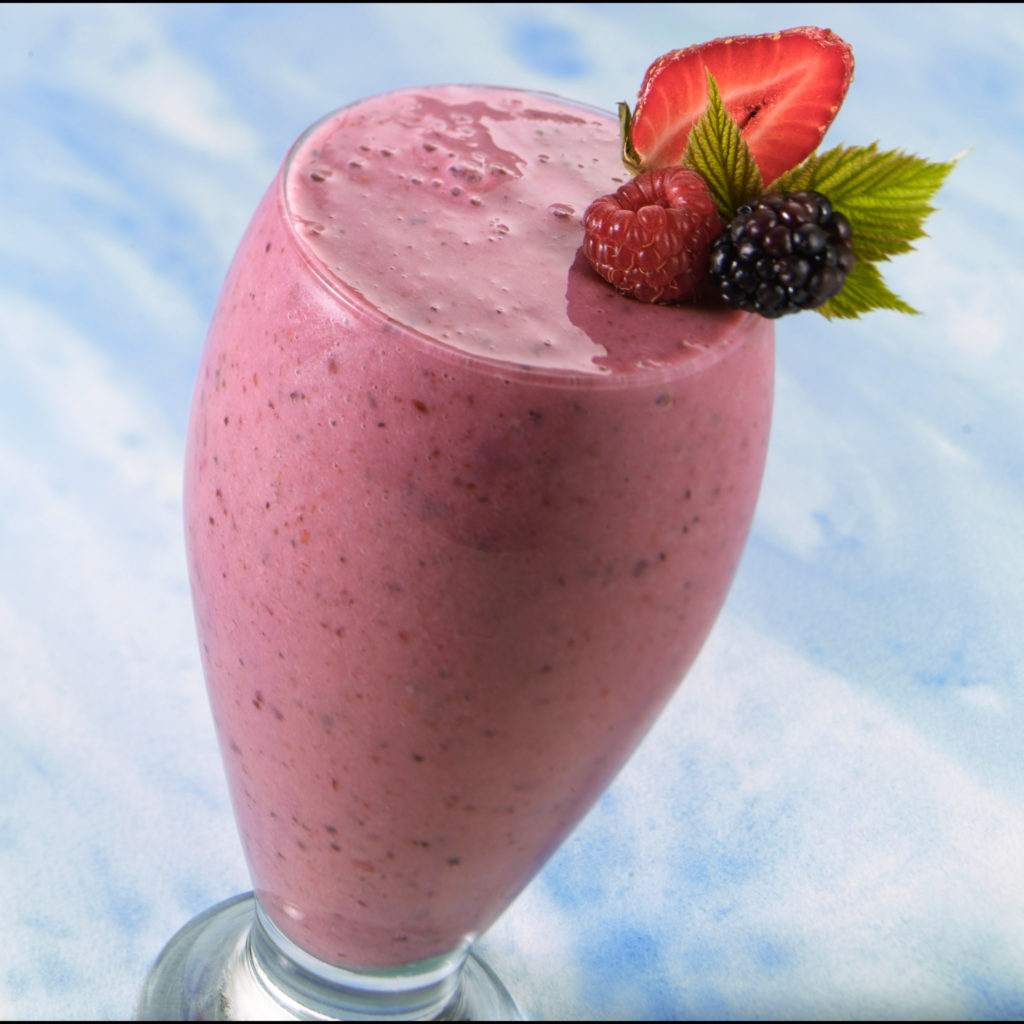 Mixed Berry Smoothiecropped