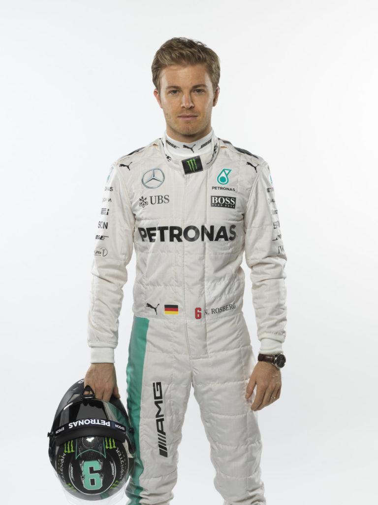 Nico Rosberg Studio Shots 2016