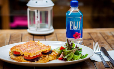cooking with gourmet greens fiji water