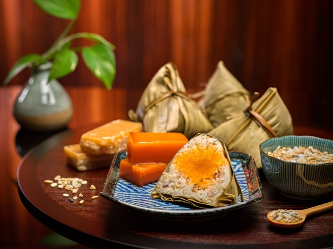 Fragrant Glutinous Rice Dumpling with Multi-Grain Rice