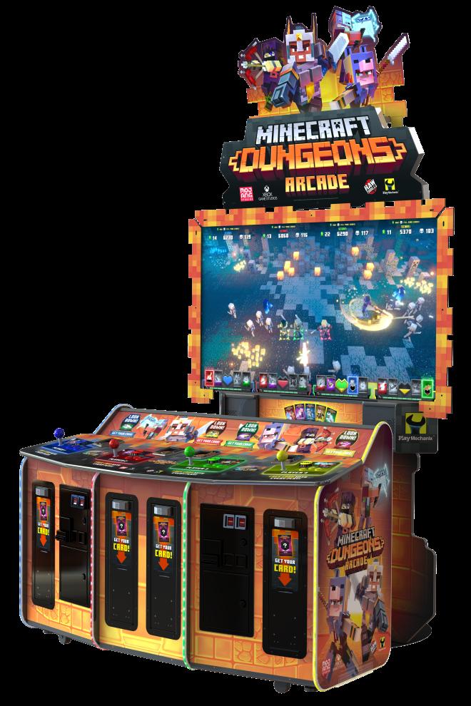 Minecraft Dungeons Arcade